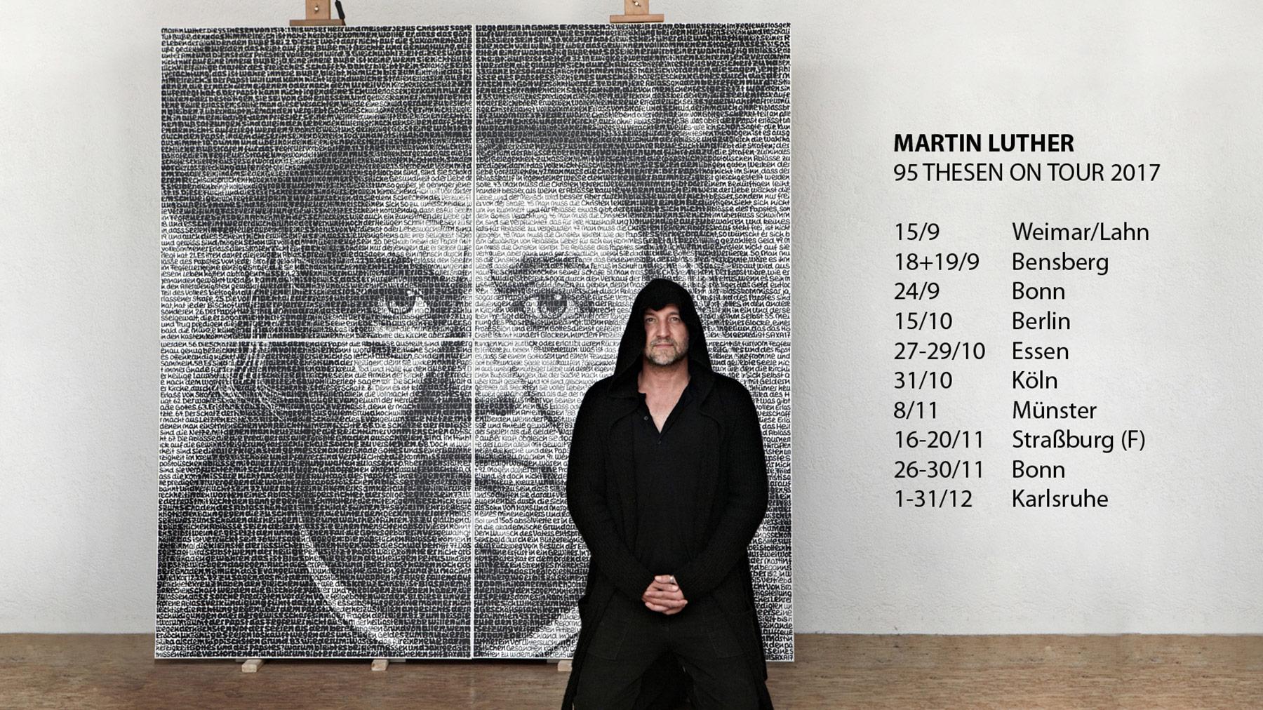 martin luther on tour saxa. Black Bedroom Furniture Sets. Home Design Ideas